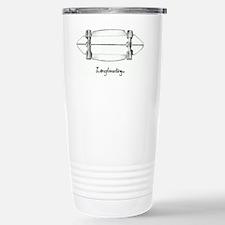 The Black and White 1 Travel Mug