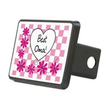 Best Oma Pink daisies Hitch Cover