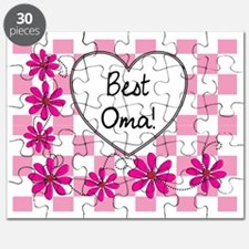 Best Oma Pink daisies Puzzle