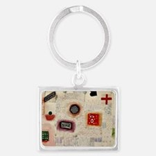 Paul Klee: Place Signs Landscape Keychain