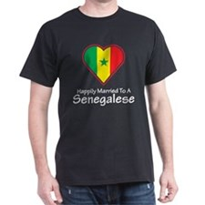 Happily Married Senegalese T-Shirt