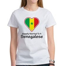 Happily Married Senegalese Tee