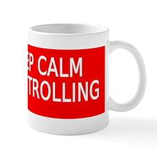 Keep Calm and Keep Trolling stickers Mug