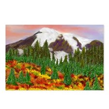 Blazing Fall Meadow Postcards (Package of 8)