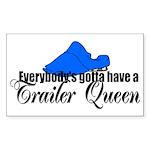 Trailer Queen Rectangle Sticker