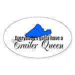 Trailer Queen Oval Sticker