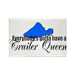 Trailer Queen Rectangle Magnet