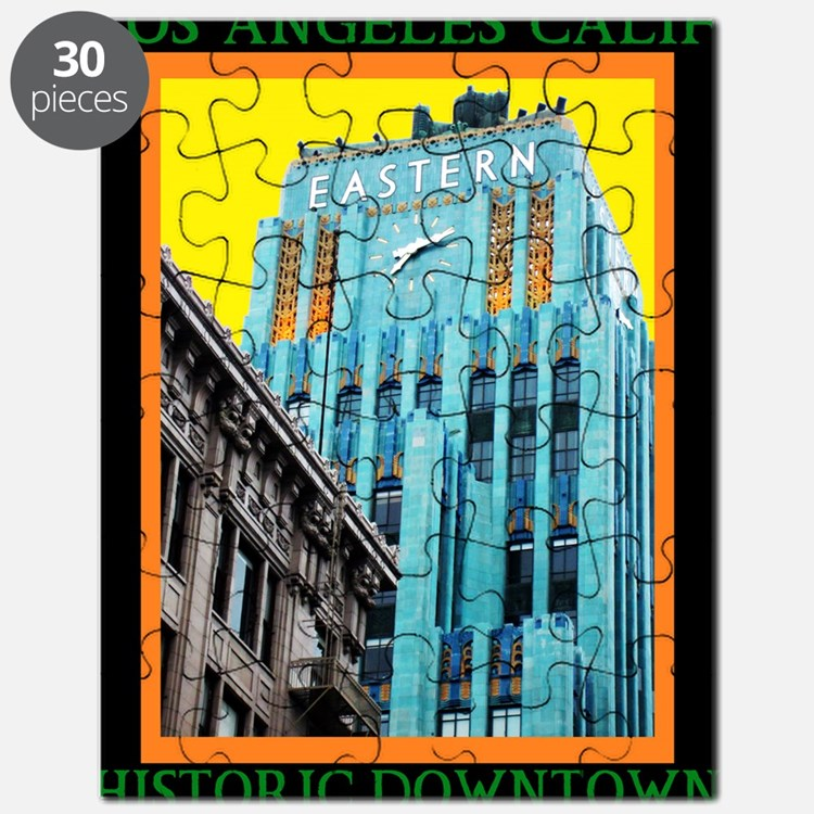 Historic Downtown Los Angeles Puzzle