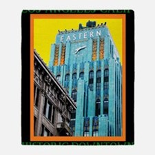 Historic Downtown Los Angeles Throw Blanket