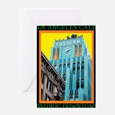 Historic Downtown Los Angeles Greeting Card