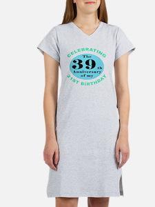 60th Birthday Humor Women's Nightshirt