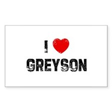 I * Greyson Rectangle Decal