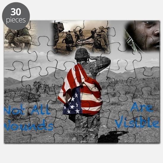 PTSD. Puzzle