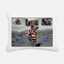 PTSD. Rectangular Canvas Pillow