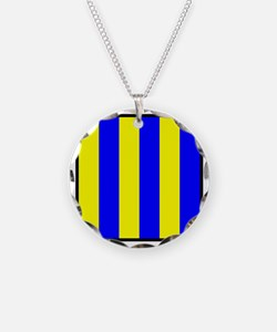 Nautical Flag Code Golf Necklace