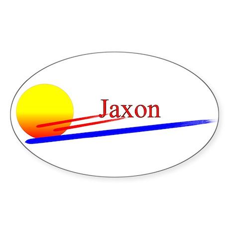 Jaxon Oval Sticker