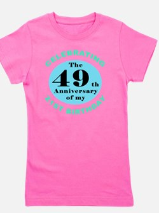 70th Birthday Humor Girl's Tee