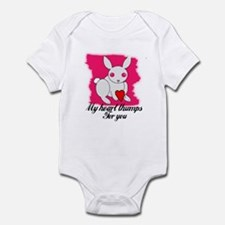 MY HEART THUMPS FOR YOU Infant Bodysuit