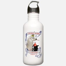 Llama Party Water Bottle