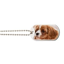 Little Cavalier King Charles Spaniel Pupp Dog Tags