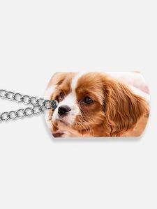 Little Cavalier King Charles Spaniel Pupp Dog Tags