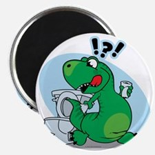 T-Rex and the Potty Magnet