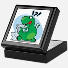 T-Rex and the Potty Keepsake Box