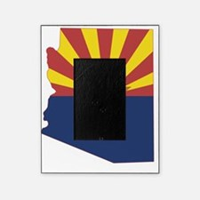 Arizona State Map and Flag Picture Frame