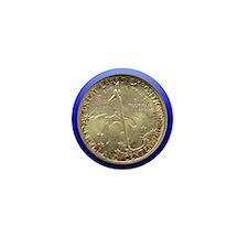 Cleveland Centennial Half Dollar Coin  Mini Button