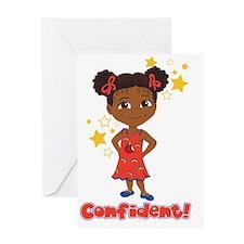 Confident Danza Greeting Card
