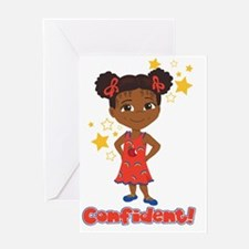 Confident Danza Greeting Card