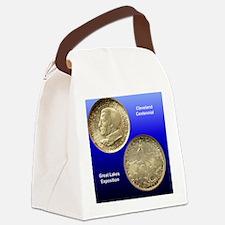 Cleveland Centennial Half Dollar  Canvas Lunch Bag