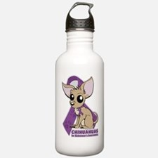 Chihuahuas for Alzheim Sports Water Bottle