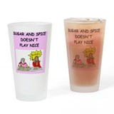Bingo Pint Glasses