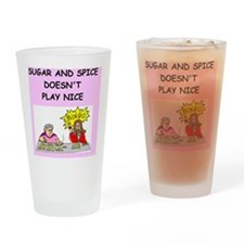 bingo Drinking Glass