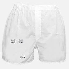 white bows Boxer Shorts