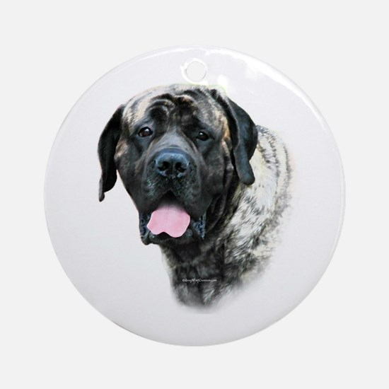 Brindle 21 Ornament (Round)
