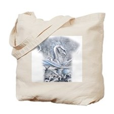 Winters Promise allover Tote Bag