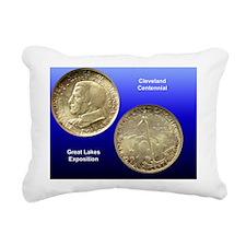 Cleveland Centennial Hal Rectangular Canvas Pillow