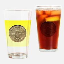 Columbia SC Sesquicentennial Half D Drinking Glass