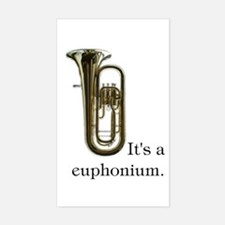 It's a Euphonium Instrument Case Decal