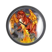 Bloodwing allover Wall Clock