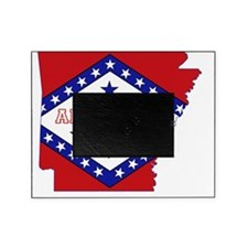 Arkansas State Map and Flag Picture Frame