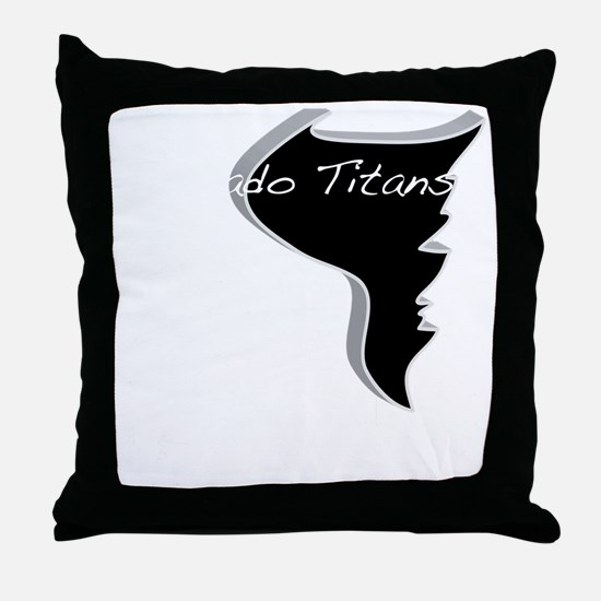 Storm Chasing National CHampions Throw Pillow