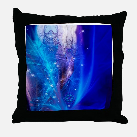 Ascension no words Throw Pillow