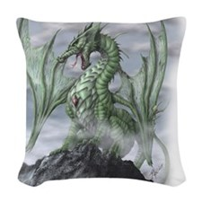 Misty allover Woven Throw Pillow