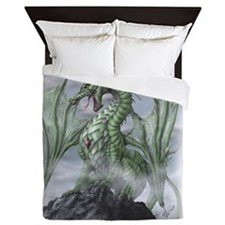 Misty allover Queen Duvet