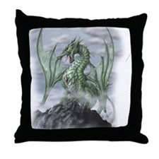 Misty allover Throw Pillow
