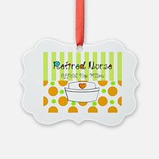 Retired nurse official nap pillow Ornament