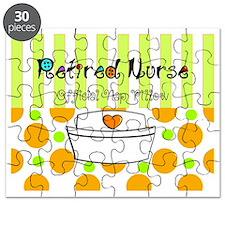 Retired nurse official nap pillow 2 Puzzle